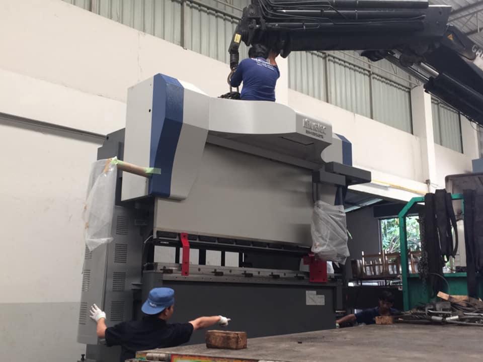 งานติดตั้งเครื่อง MURATA Press Brake BH 8525 VIDERE 3D Full Auto @ ณัฐทรัพย์ 21-5-61