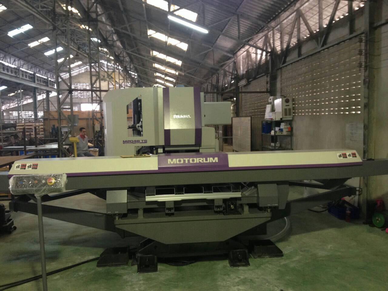 งานติดตั้งเครื่อง Muratec Turret Punch Press M2048TS พร้อมฟังซ์ชั่นการต๊าป @ PPK Industry 27-1-58