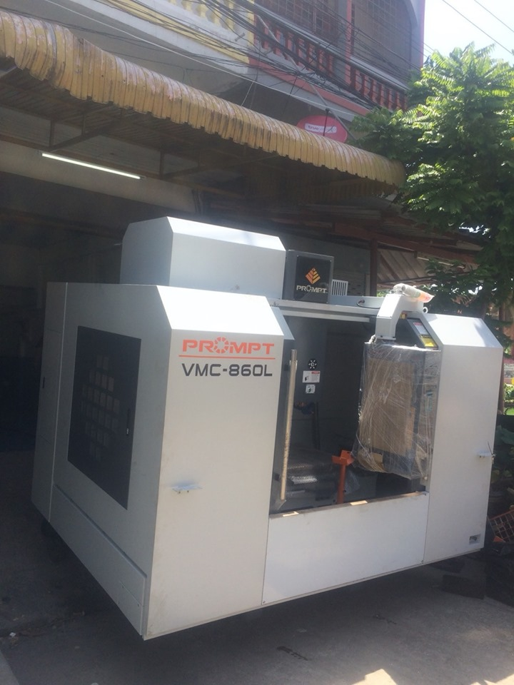 งานติดตั้งเครื่องจักร Prompt VMC 860L @ sms pintech 23/6/62