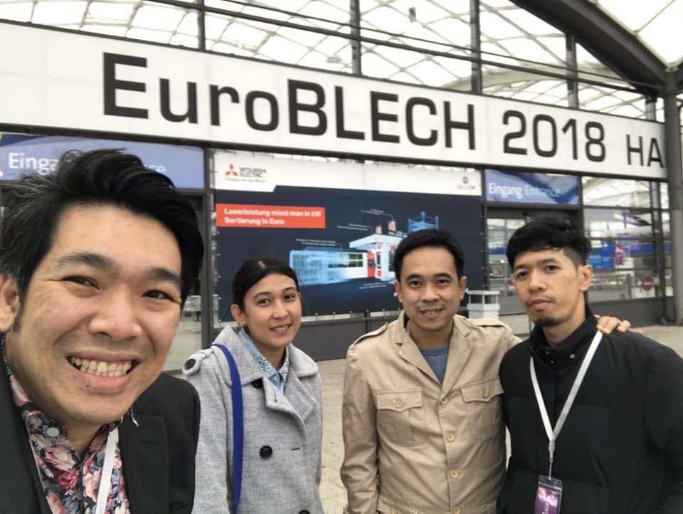 ผู้บริหาร และ วิศวกร จาก IITGROUP เดินทางร่วมงานแสดงเครื่องจักร Euro BLACH 2018 ณ ประเทศเยอรมันนี