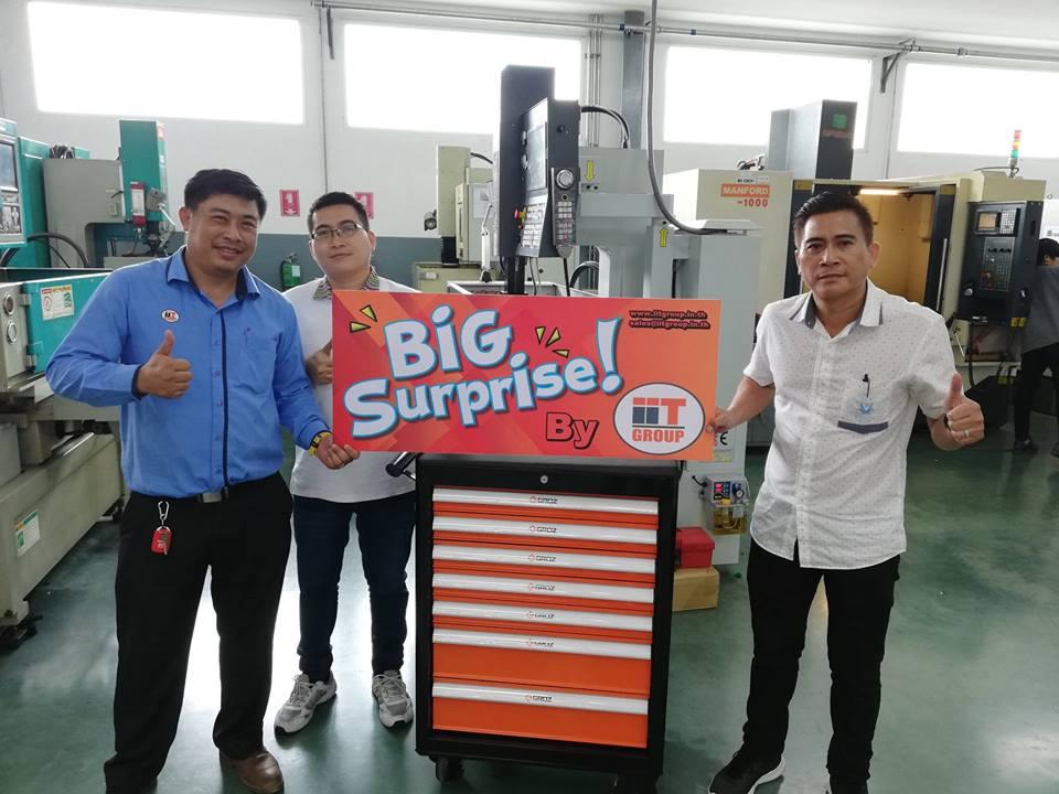 IIT Group Big surprise