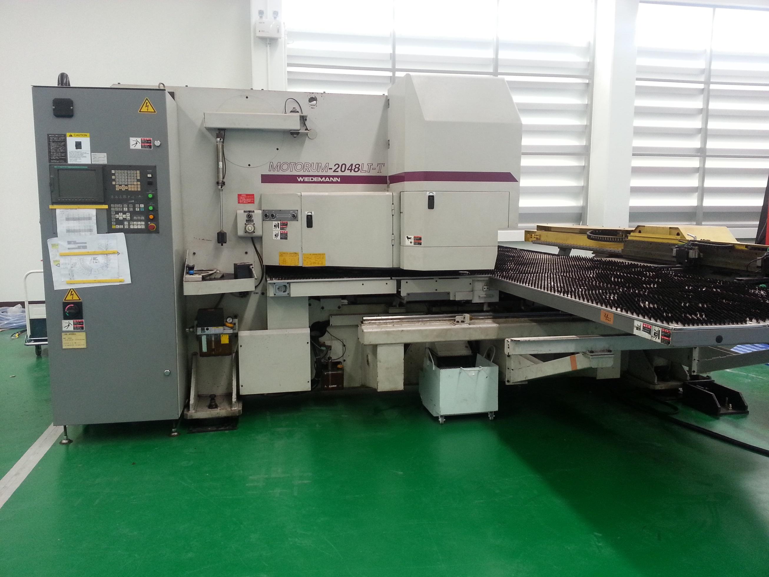 Turret punch press M-2048LT-T Re-Installation