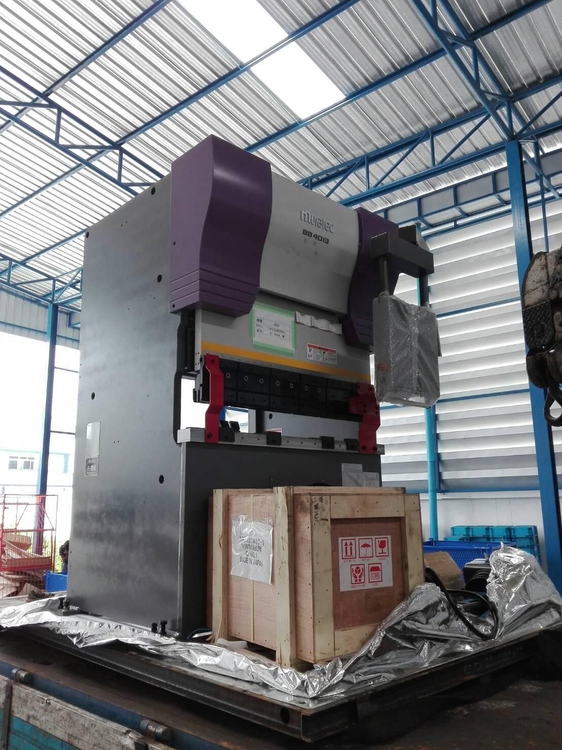 งานติดตั้ง Murata Press Brake BB4013 @ บริษัท ไทยคามาโย 10/3/60