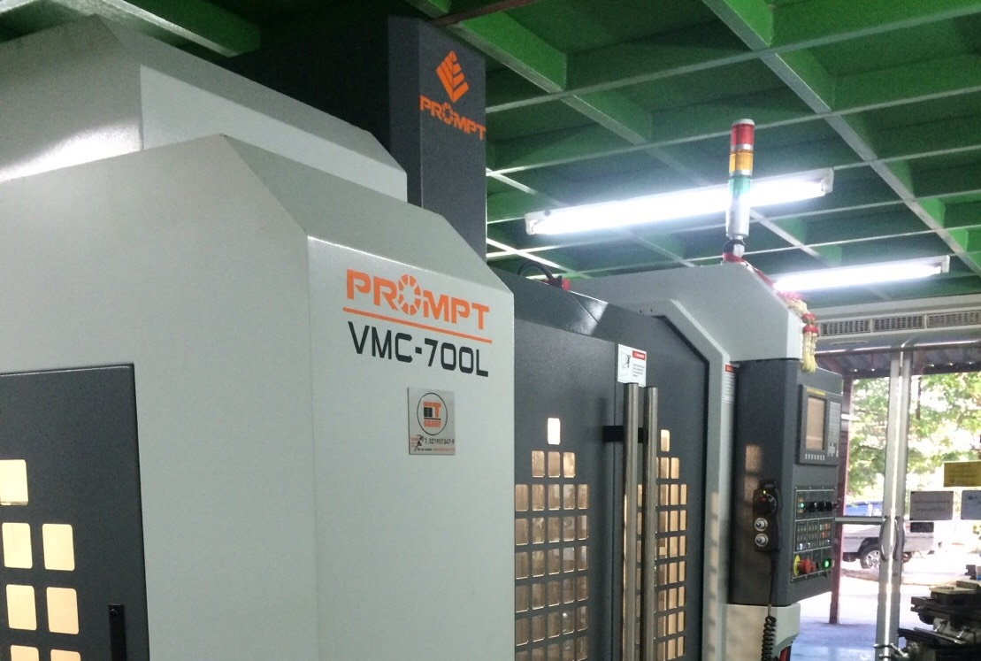 งานติดตั้ง Prompt Machining Center VMC 700L @ ธนาพรีซิชั่น 5-5-60
