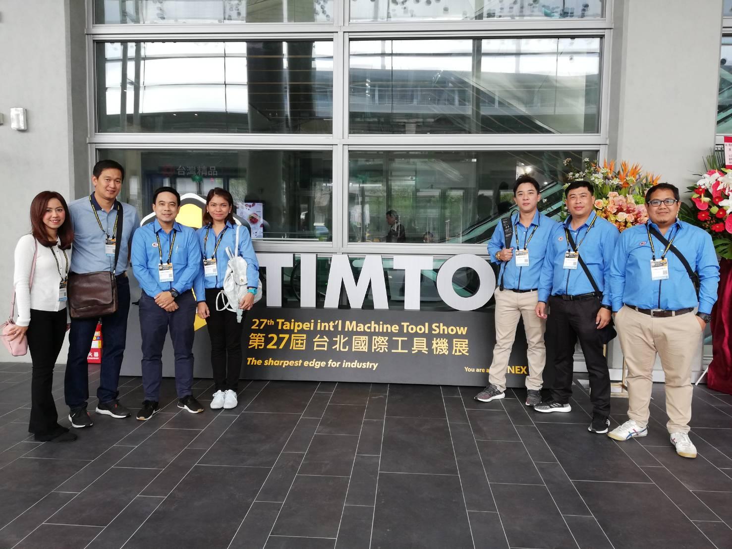 ทีมงาน IIT Group ตะลุยงาน TIMTOS ณ.ประเทศไต้หวัน ร่วมออกงานกับบูท PROMPT ผู้ผลิตเครื่องจักรรายใหญ่อันดับต้นๆของไต้หวัน