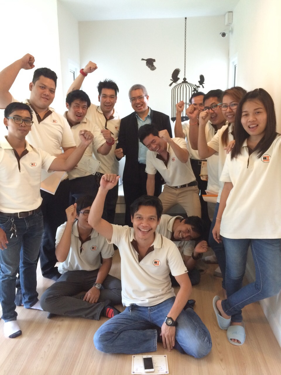 In house Training IIT GROUP การส้างขวัญกำลังใจ ในภาวะเศรษฐกิจตกต่ำ 26-7-57
