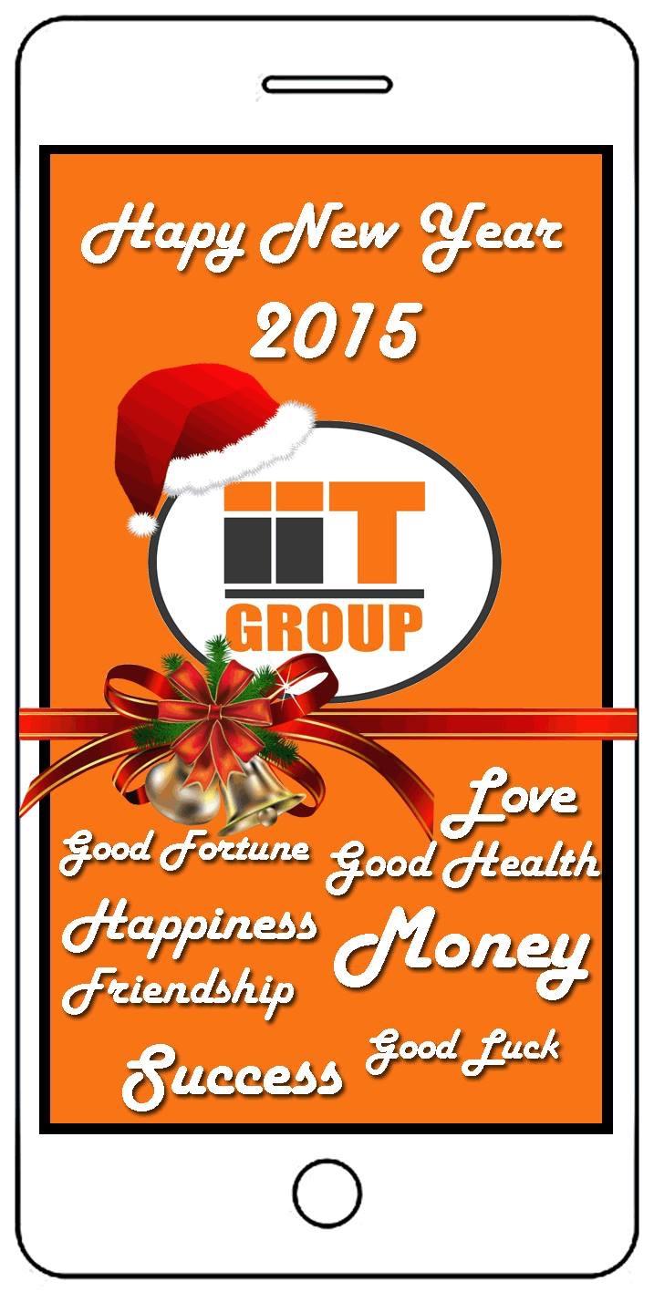 IIT GROUP สวัสดีปีใหม่ 2558