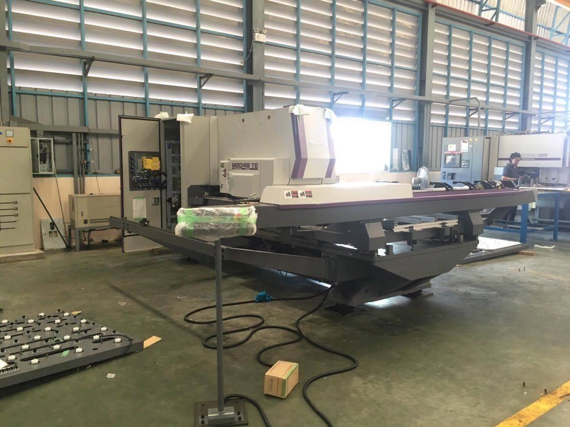งานติดตั้ง  Turret Punch Press MURATA M2048TE @ บริษัท ไทยจี เอลเลเวเทอร์ จํากัด 28/11/59
