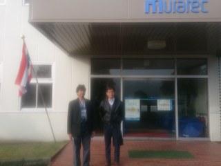 นำคณะลูกค้า หจก.หนึ่งเอ็นจิเนียริ่ง ตรวจเช็คเครื่องจักรก่อนส่งมอบ และ เยี่ยมชมโรงงาน MURATA ณ ประเทศญี่ปุ่น 16-20/11/56