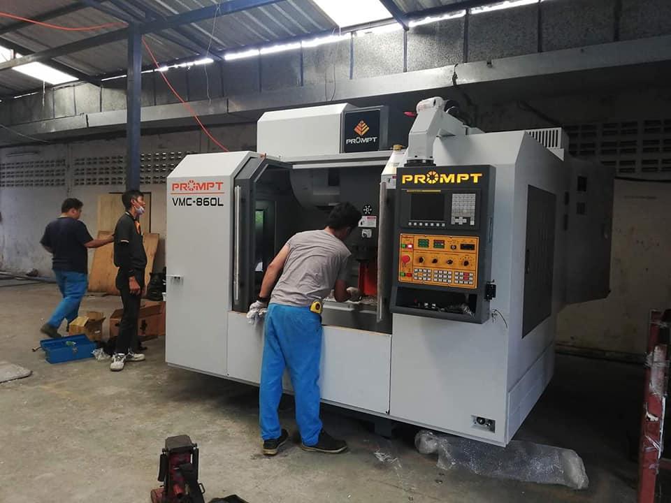 งานติดตั้ง PROMPT VMC-860L @ บริษัท เอสเอ-เบ็นดิ้ง จำกัด 3-9-62