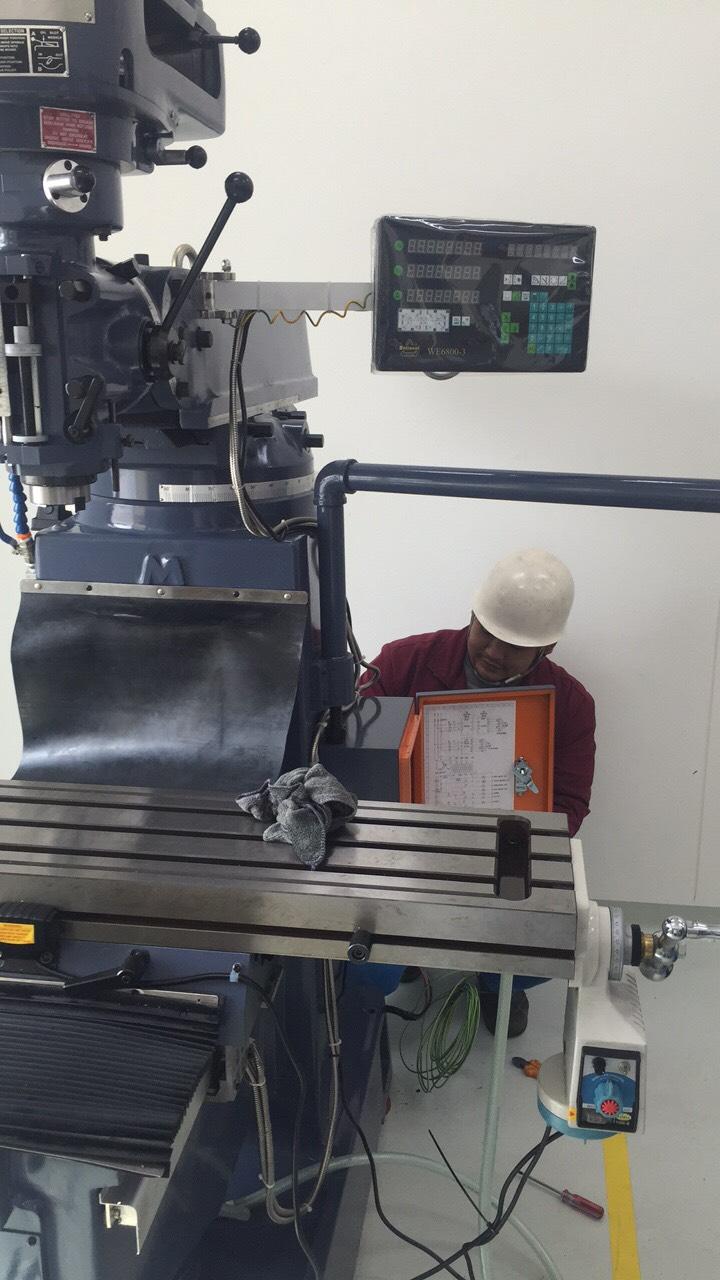 งานติดตั้งเครื่อง Prompt Milling PM-3S @ ลูกค้านิคมอีสเทริน์ซีบอร์ด 28-10-62