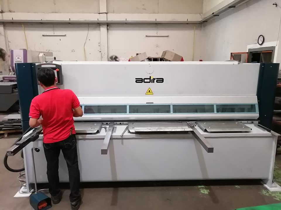 งานติดตั้ง Adira GH Hydraulic swing beam shears @ ลูกค้าย่ายลำลูกกา 14-2-63