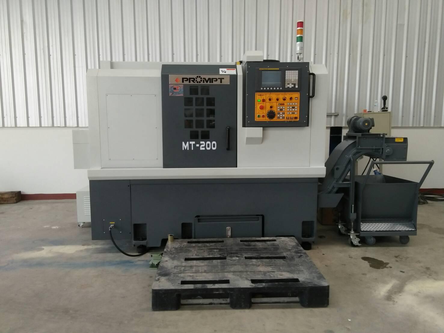งานติดตั้ง Prompt CNC Lathe MT-200 @ ลำพูน พาร์ท 22-5-60