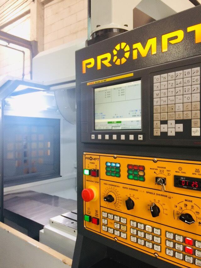 งานติดตั้งเครื่องจักร Prompt VMC 860L @ มิติเทค เทคโนโลยี 10-5-62