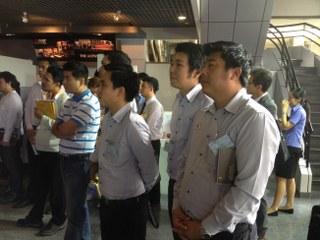 ศึกษาดูงานเครื่องจักรที่ มิตซูบิชิ อิเล็คทริค (ประเทศไทย) 13-3-57