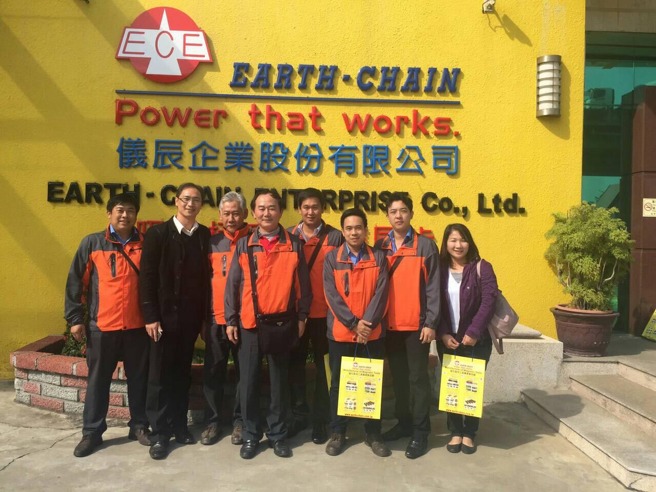 ผู้บริหารและพนักงาน IIT เดินทางเยี่ยมชมโรงงานผลิตเครื่องจักร ณ ประเทศไต้หวัน 13-16/1/2559