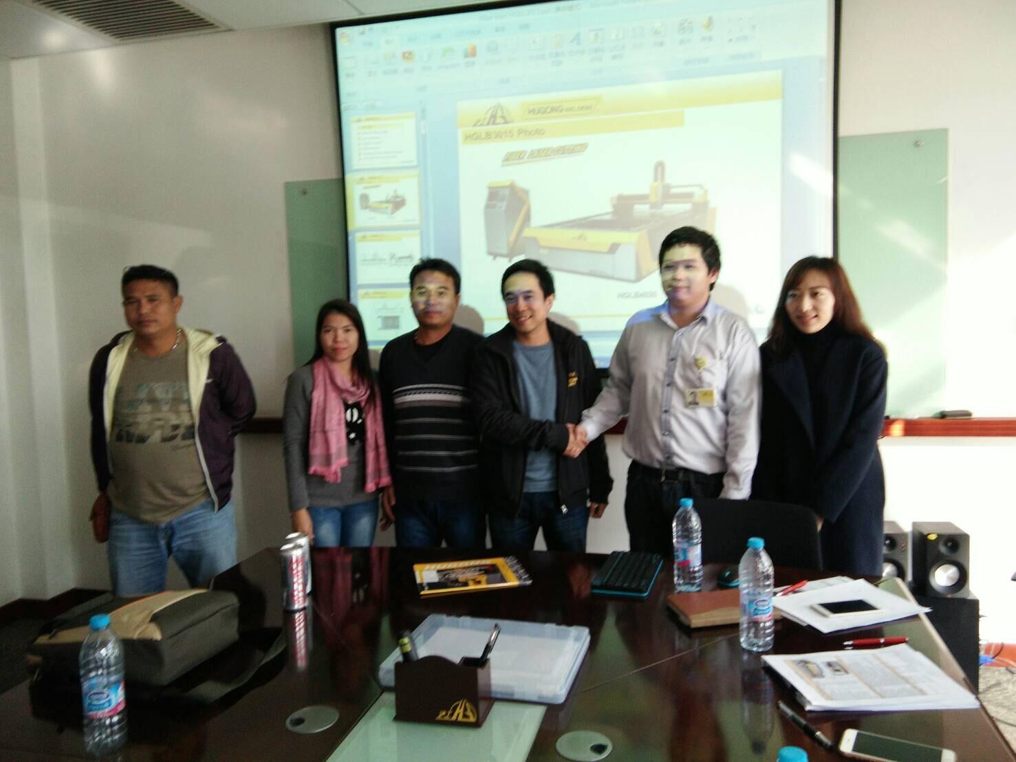 IITGROUP นำคณะลูกค้าเยี่ยมชมโรงงาน Fiber Laser ชั้นนำระดับโลก ณ ประเทศจีน 11-14/1/2560
