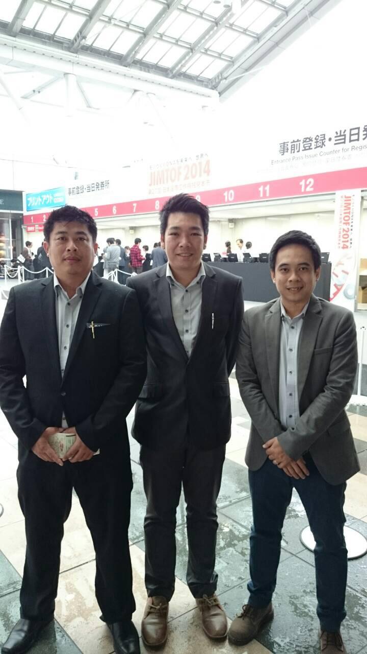 คณะผู้บริหาร IIT GROUP เยี่ยมชมและเจรจาทางธุรกิจ JIMTOF 2014 ณ.ประเทศญี่ปุ่น 1-11-57