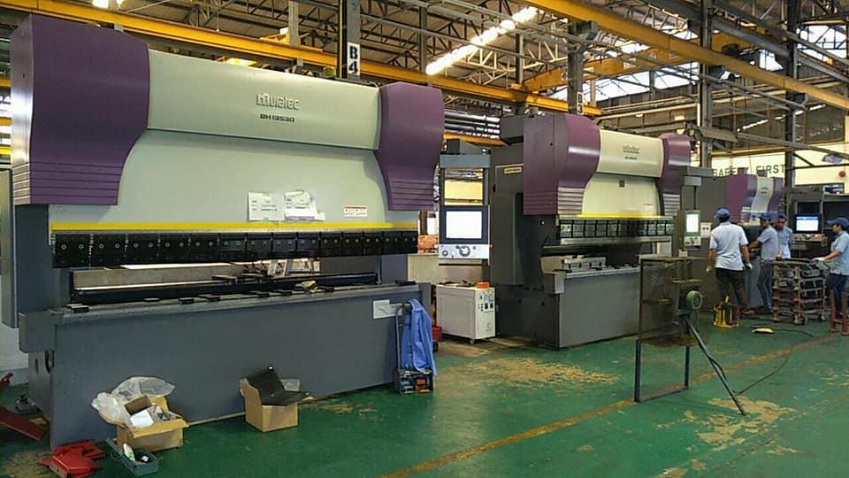 งานติดตั้งเครื่อง Murata Press Brake BH13530 @ สีมาโลหะภัณฑ์ 19/3/61