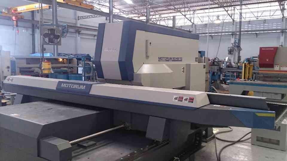 งานติดตั้งเครื่อง Turret Punch Press MOTORUM 3048TG บริษัท Ruskin 16/1/57