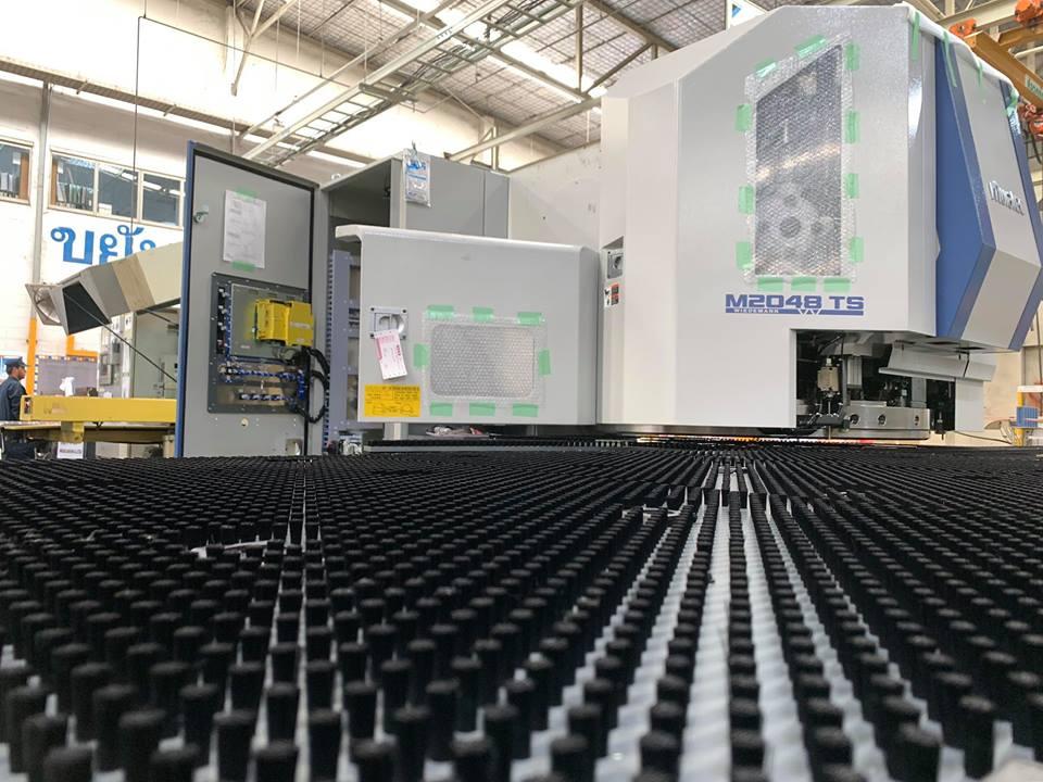 งานติดตั้งเครื่องจักร MURATA Turret Punch Press MOTORUM 2048TS @ บริษัท ไดกิ้น แอร์คอนดิชั่นนิ่ง (ประเทศไทย) จำกัด 12/3/62