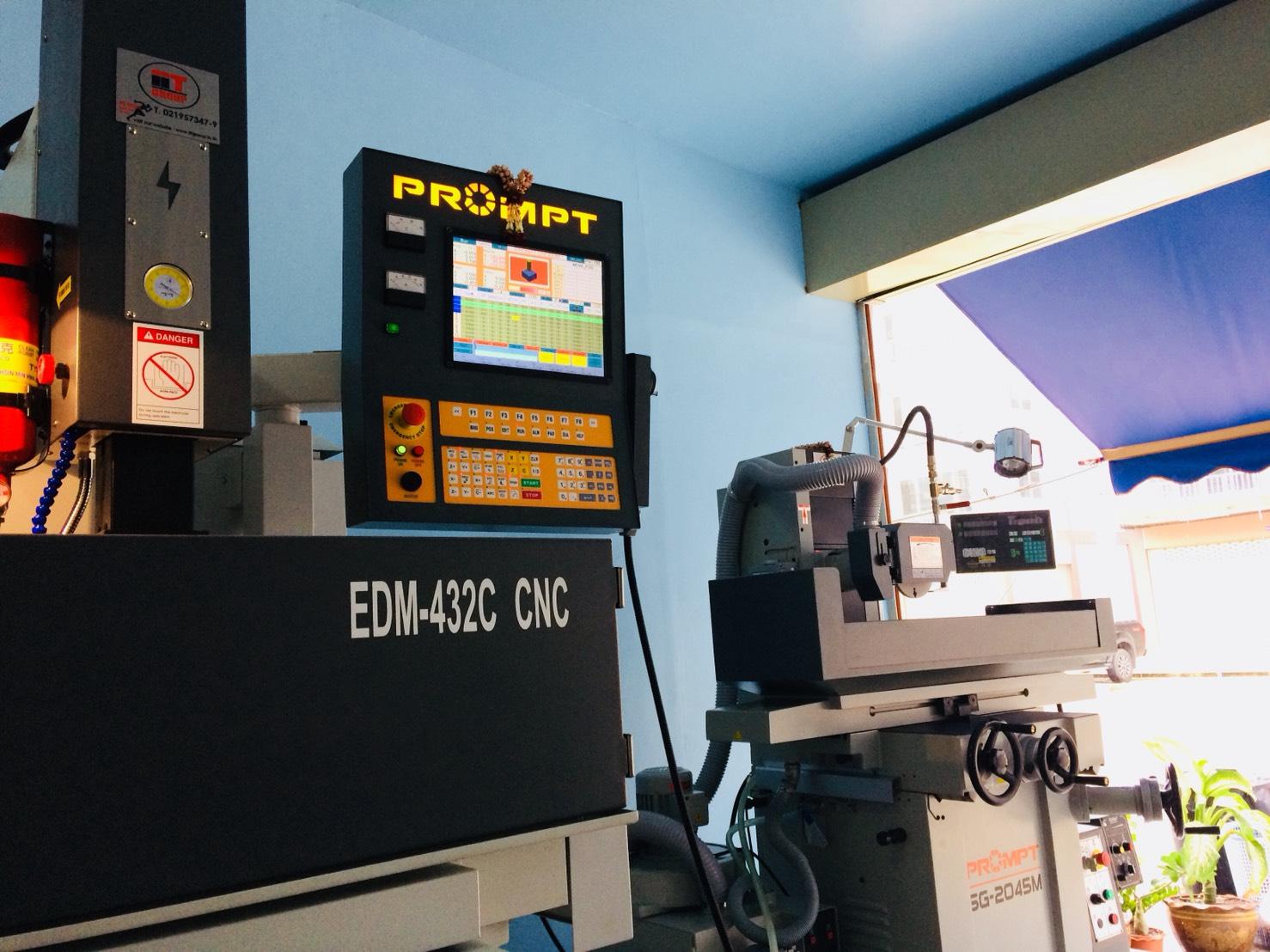 งานติดตั้ง Prompt EDM 432C CNC & Prompt Grinder @ SSJC 17-9-61