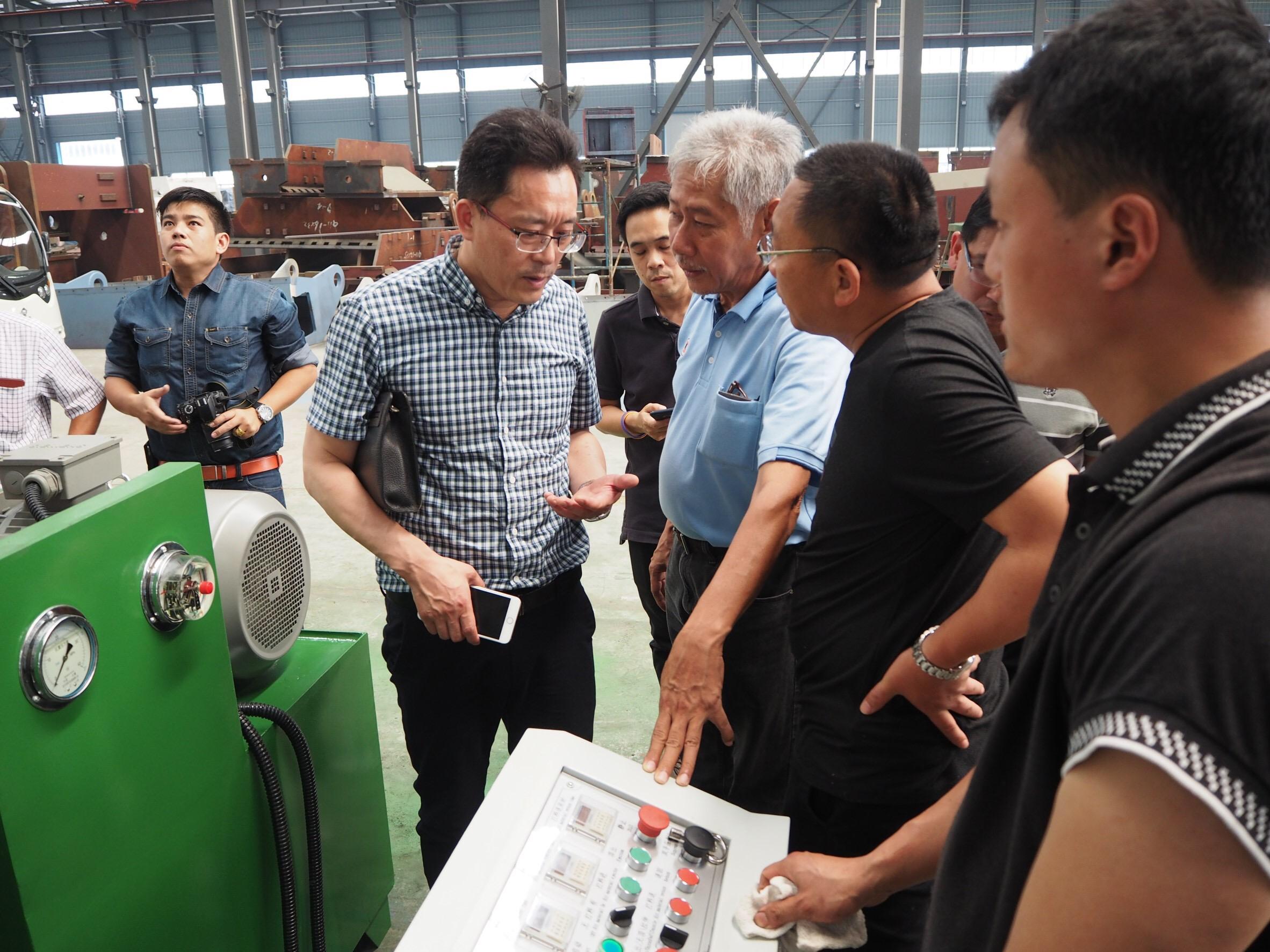 IITGroup นำลูกค้าตรวจเช็คและเยี่ยมชมโรงงานผลิต ณ ประเทศจีน