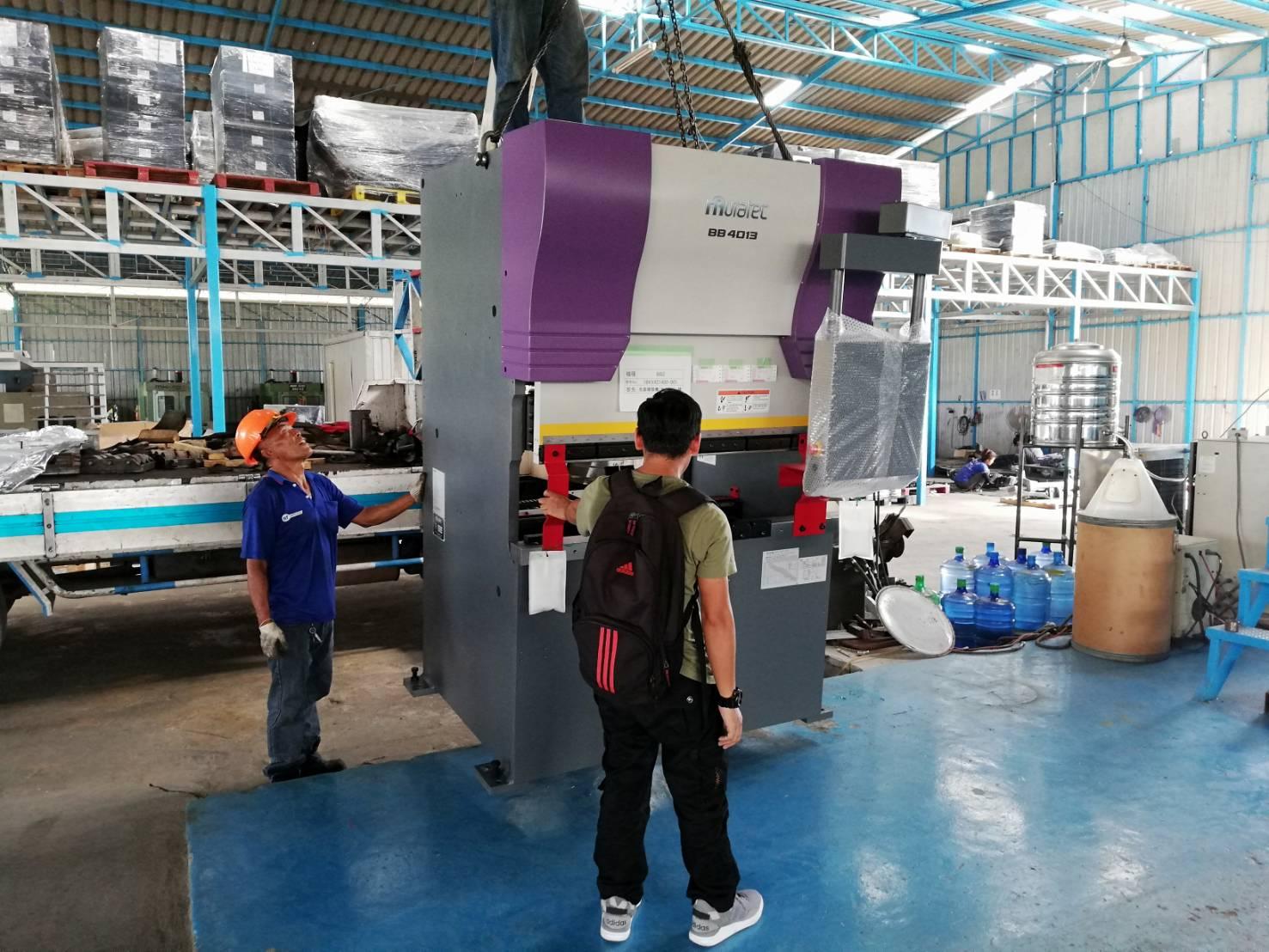 งานติดตั้งเครื่องจักร MURATEC Press Brake BB4013 @ Option 4x4 2/6/61